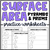 Surface Area of Prisms & Pyramids