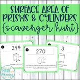 Surface Area of Prisms and Cylinders Scavenger Hunt Activity