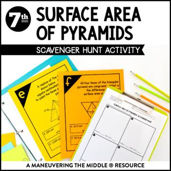 Surface Area of Pyramids
