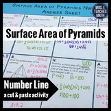 Surface Area of Pyramids Cut and Paste Activity