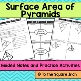 Surface Area of Pyramids Notes