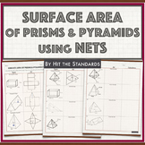 Surface Area of Solids using Nets 7.9D