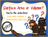 Surface Area vs Volume: Prisms and Cylinders -- Situation