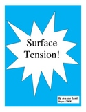 Surface Tension: A Simple Lesson About Water