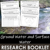 Surface and Groundwater in a Watershed- Research Booklet