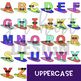 Alphabet Letters Clip Art - Surfboard Letters {jen hart Clip Art}
