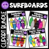 Surfboard Clipart BUNDLE
