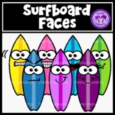 Surfboard Faces Clipart