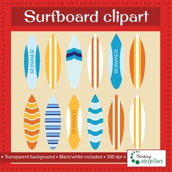 Surfboards Clip art