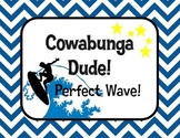 Surfer Classroom Behavior Chart