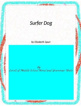 Surfer Dog Literature and Grammar Unit
