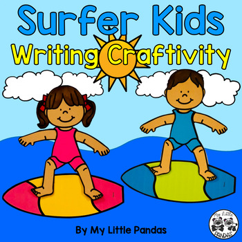 Surfer Kids Writing Craftivity