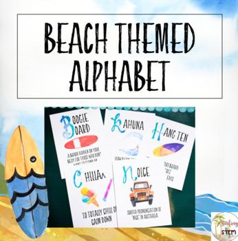 Surfer Themed Alphabet