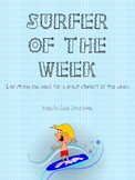 Surfer of the Week  (student of the week)