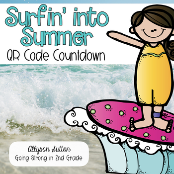 Surfin' Into Summer 10 Day Countdown to Summer QR Code
