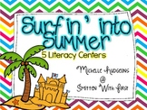 Surfin' Into Summer Literacy Centers