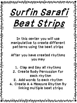 Surfin Safari Beat Strips
