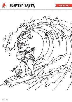 Surfin Santa