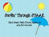 Surfin' Through the STAAR- Third Grade Math STAAR Review