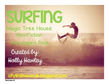 Surfing- A Non-Fiction Magic Tree House Accompany Pack