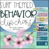 Surfing / Beach / Sea Theme Editable Behavior Chart / Beha