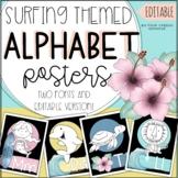 Surfing / Beach Themed Classroom Decor Alphabet Classroom