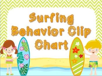 Surfing Behavior Clip Chart