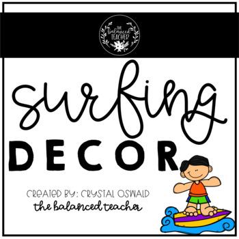 Surfing Decor