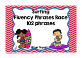 Surfing Sight Word Fluency Phrases Race