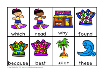 Surfing Sight Word Race