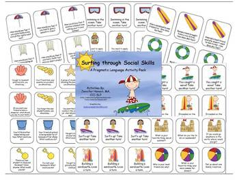 Surfing Through Social Skills- A Pragmatic Language Activity Pack