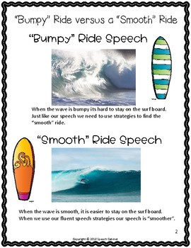"Surfing Your Way to ""Smooth"" Speech - A Fluency Packet"