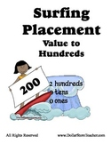 Surfing in the Sun - Placement Values to the Hundreds - 72