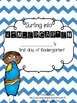 Surfing into Kindergarten Activity packet