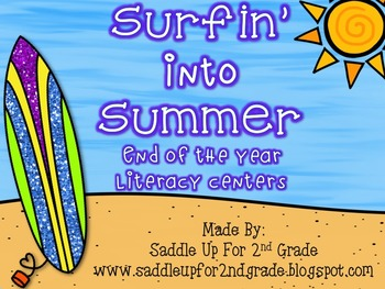 Surfing into Literacy Centers