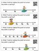 QR Code Task Cards: Fractions on a Number Line