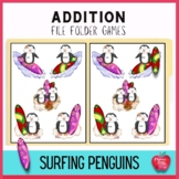 Summer Addition File Folder Games: Surfing the Waves of Addition Facts