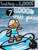 Surfing to 1,000 - Seven 1,000s Chart Activities to Build Number Sense! - Summer