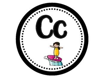 Surf's Up Alphabet-Surfing/Beach Theme