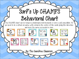 CHAMPS Behavioral Chart: Surfing Theme