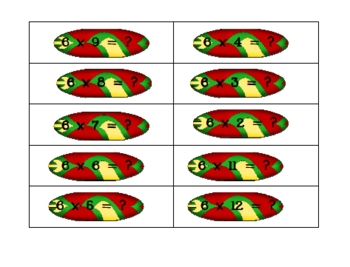 Surf's Up Multiplication