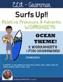 {$1 Deal} Surfs Up Ocean Theme - Relative Pronouns