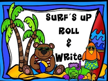 Surf's Up Roll and Write