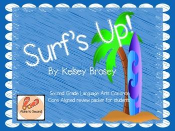 Surf's Up - Second Grade ELA Skill Box Activities