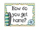 Surf's Up: Student Dismissal Chart Beach/Surf Theme (How W