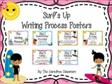 Writing Process Posters: Surfing Theme