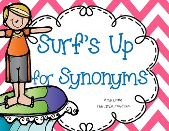 Surf's Up for Synonyms