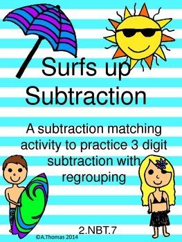 Surfs up Subtraction! 2.NBT.7