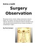 Surgery Observation Project  (E.C.)