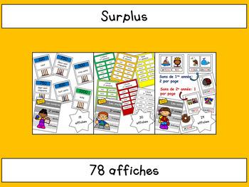 Surplus des cahiers de 2e année
